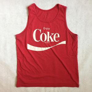 Super soft vintage Coca Cola Tank Top